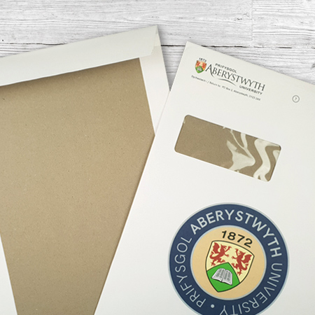 Printed Board Back Envelopes