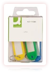 Q CONNECT KEY FOB PACK (Pack of 6)