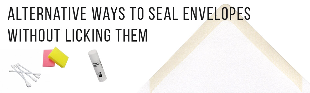 Seal envelopes without licking them