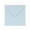 PALE BLUE 130mm SQUARE ENVELOPES 120GSM