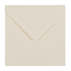 IVORY 100mm SQUARE ENVELOPES 130GSM