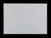 C5 PEARL SNOW WHITE ENVELOPE