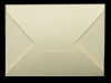 C6 DIE CUT SMOOTH IVORY ENVELOPES