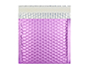 165MM SQUARE MATT METALLIC LILAC PADDED ENVELOPES