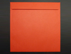 PILLAR BOX RED 220mm SQUARE PEEL & SEAL ENVELOPES