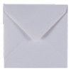PEARLESCENT SNOW WHITE 130mm SQUARE ENVELOPES