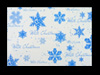 C5 WHITE PRINTED SNOWFLAKE 120GSM PEEL & SEAL ENVELOPES (PACK OF 10)