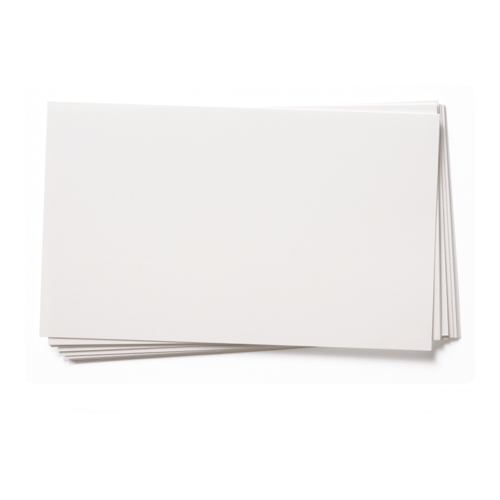 A3 WHITE ENSOCOAT SINGLE SIDED GLOSS CARD (300gsm)