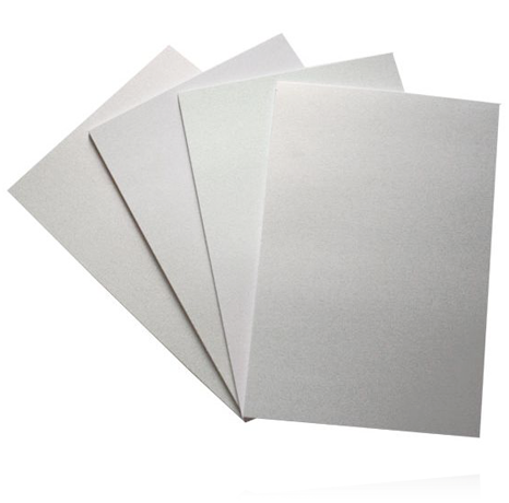 A4 PEARLESCENT SNOW WHITE CARD (Pack of 10 Sheets)