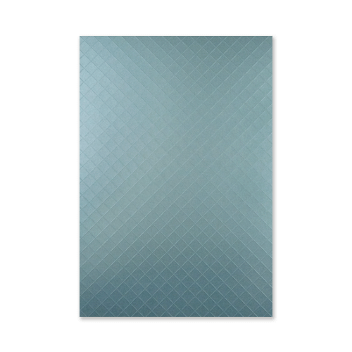A4 PEARLESCENT OCEAN BLUE EMBOSSED CARD TRELLIS (Pack of 5)