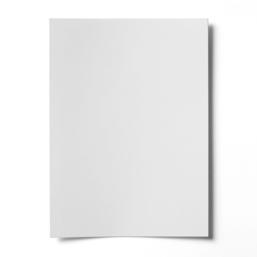 A5 WHITE ENSOCOAT SINGLE SIDED GLOSS CARD (250gsm)