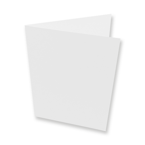 A6 Callisto Diamond White 350 gsm Single Fold Card Blanks