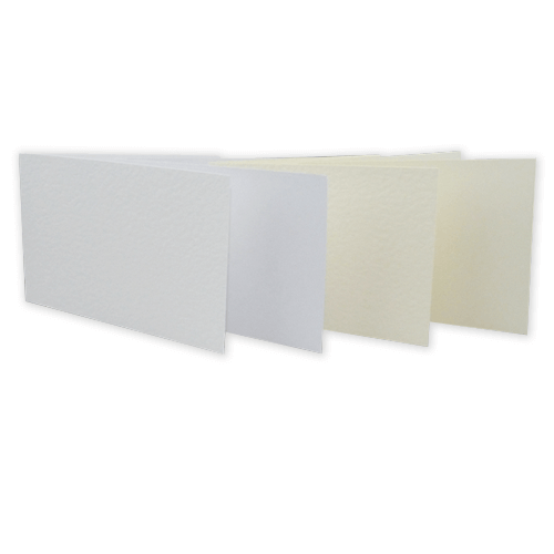 SINGLE FOLD CARD BLANKS - Creased to 105 x 148 mm (A6) (Landscape)