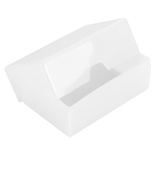 BUSINESS CARD PLASTIC STORAGE BOX