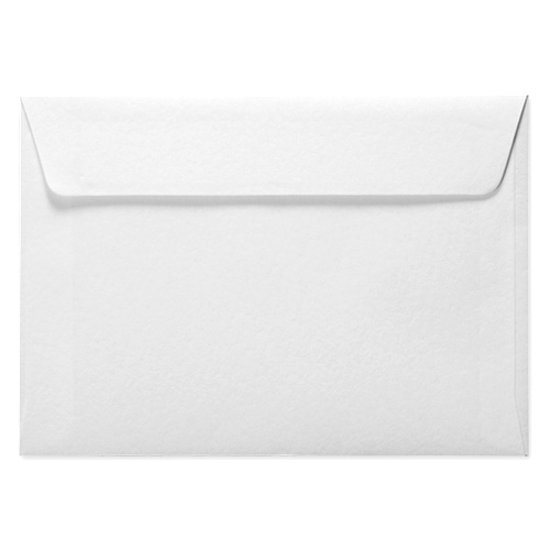 C6 WHITE HAMMERED PEEL AND SEAL ENVELOPES