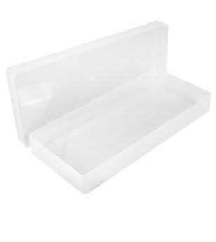 PEEL OFF PLASTIC STORAGE BOX