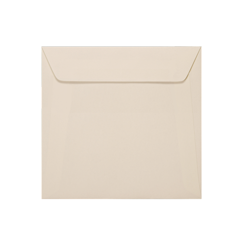 155mm Square Accent Antique Magnolia 110gsm Peel & Seal Envelopes