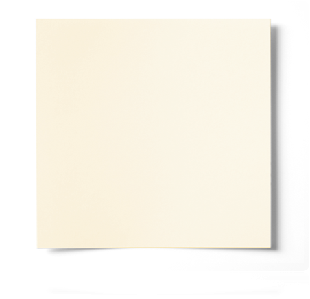 300mm SQUARE SMOOTH STANDARD IVORY CARD (240gsm)