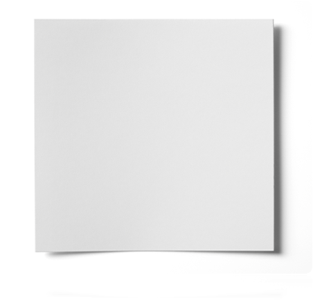300mm SQUARE WHITE TRUCard SINGLE COATED GLOSS CARD (180gsm)