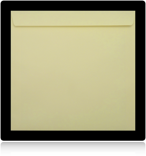 Vanilla 220mm Square Envelopes