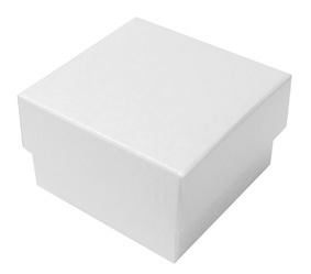 FAVOUR BOXES WHITE HAMMER 300 gsm