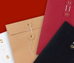 String and Washer Envelopes
