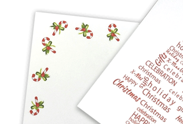 Christmas Printed Envelopes