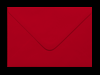 SCARLET RED 70 x 100 mm GIFT TAG ENVELOPE (i2)